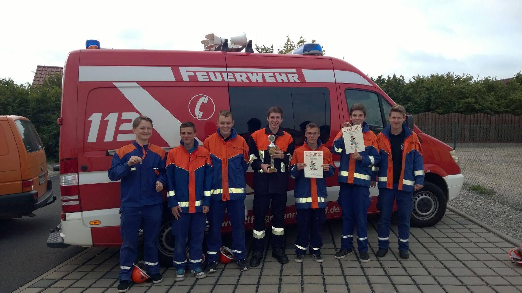 Sensation beim Jugendfeuerwehrwettbewerb in Poppenhausen